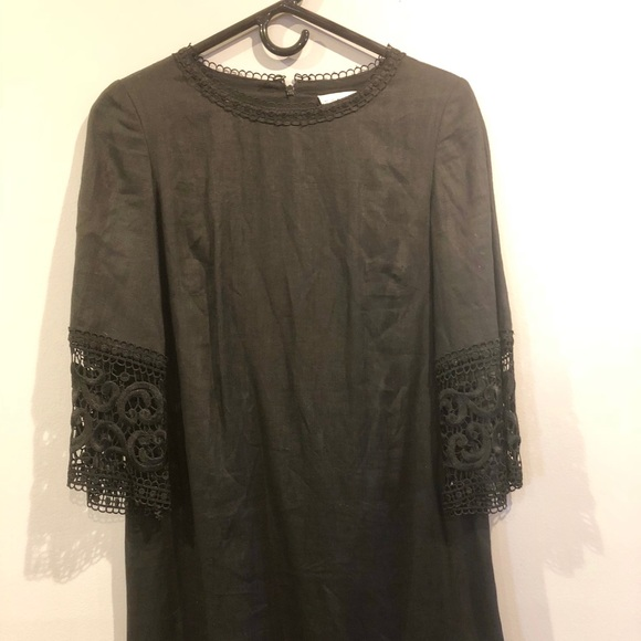 Miguelina Dresses & Skirts - Gorgeous LBD with lace details in EUC (never worn)